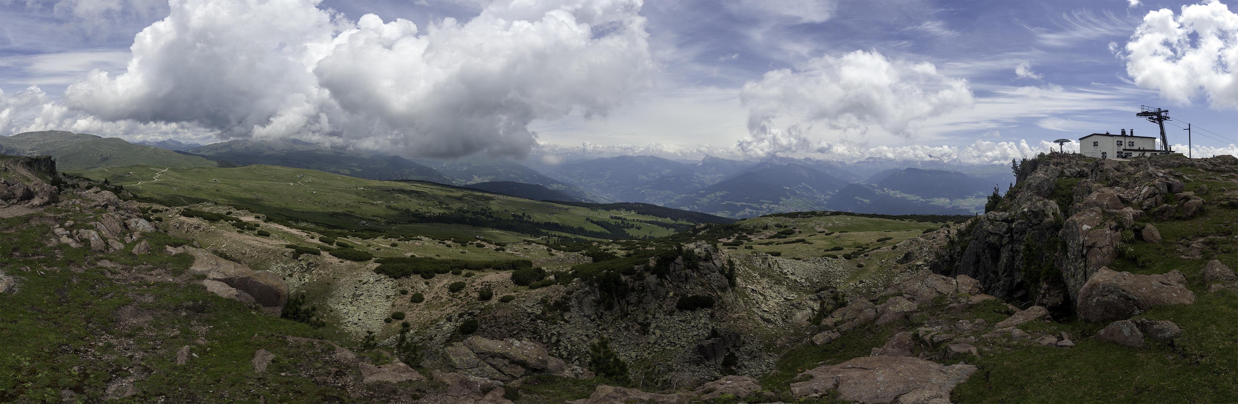 Rittner Horn, Corno del Renon, 2260m, Italy