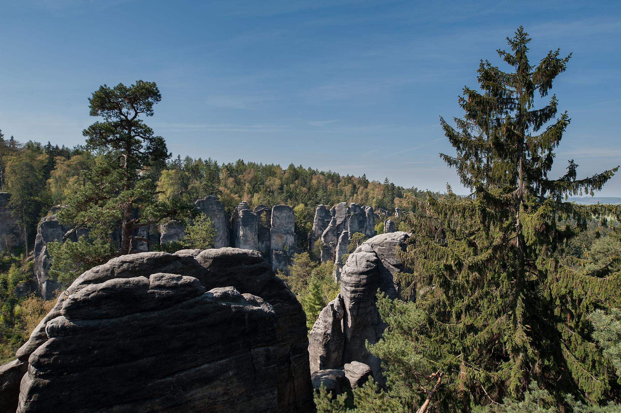 Prachovské skály,Czech Republic