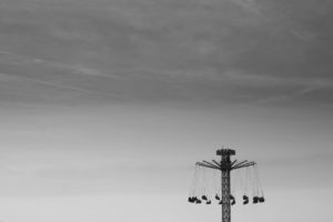 Amusement park, Prague, Czech Republic, Matějská pouť